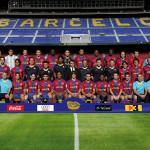 Foto oficial del Barça 2007/08