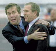 George y Jeb Bush